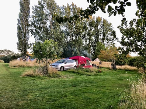Campsite to bring your own tent or small campervan