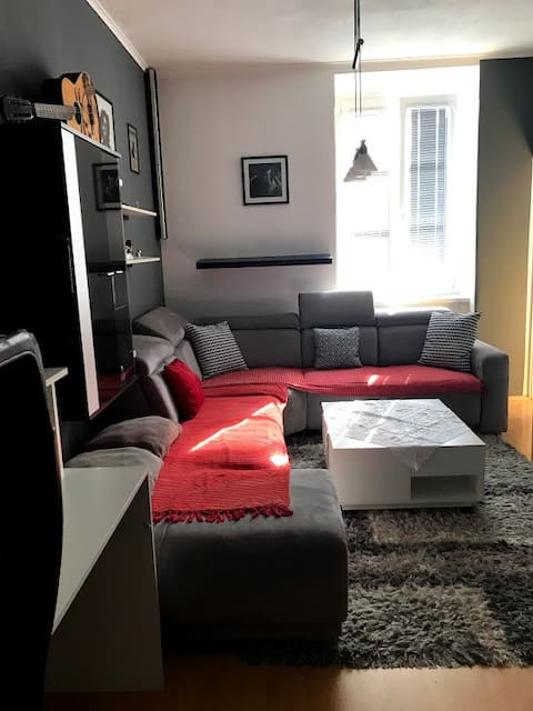 Cosy apartment near Danube and metro station :)