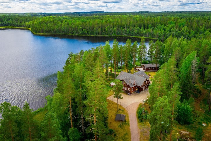 Private lake house near Helsinki