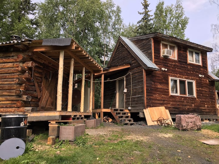3 Bush cabins on Yukon river/Iditarod trail!!