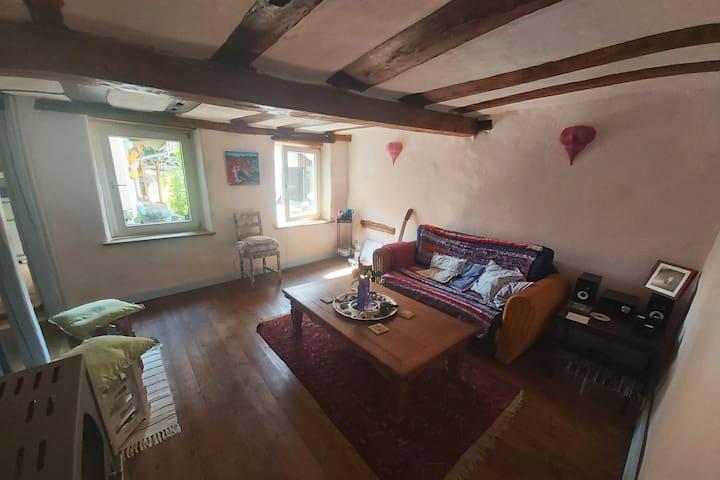 Kleines Cottage auf dem Dilsberg