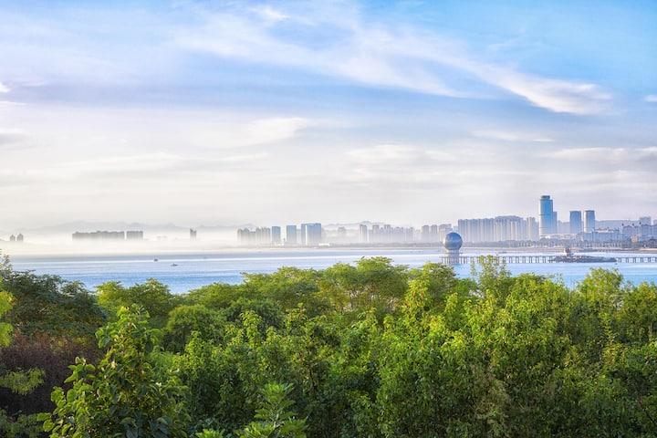 莱山瞰海花园别墅--绝版海景VIP房