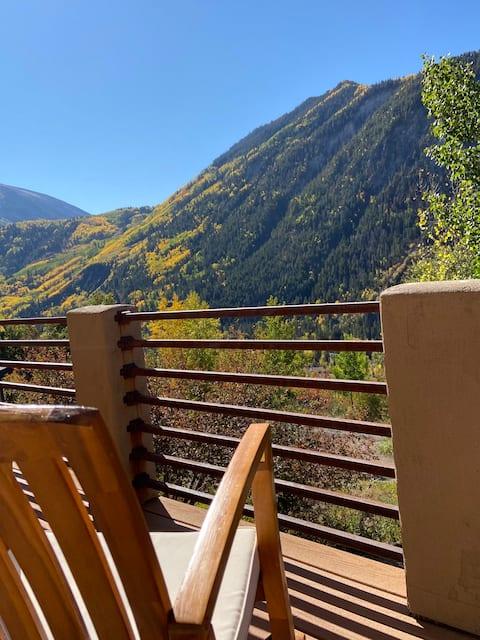 Open, Airy Mountaintop Home