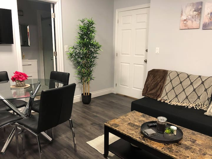Cozy Private Basement Unit in Downtown Mississauga
