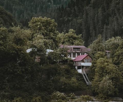 House in Racha, Near to resort Shovi