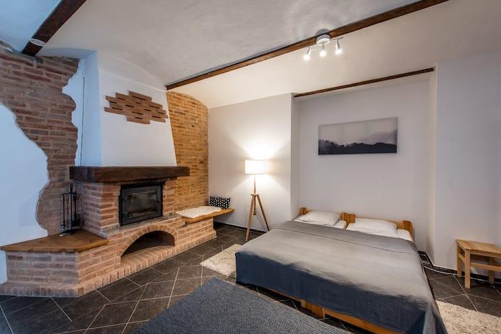 Farm Pnovany - apartment, 1 bedroom, 6 people