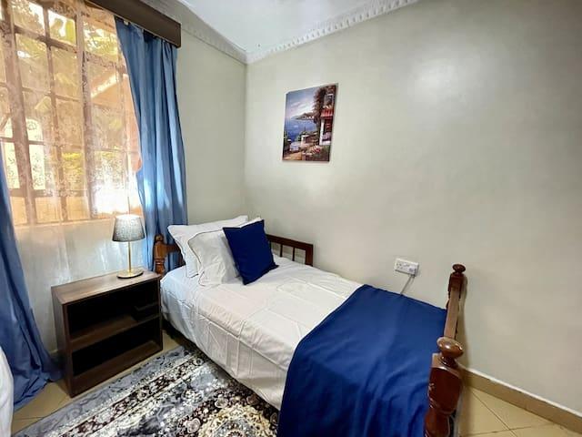 Bedroom 1 GF-2 single comfortable beds