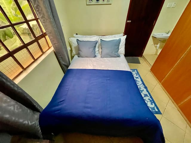 Bedroom 2- Comfortable Bed can sleep 2
