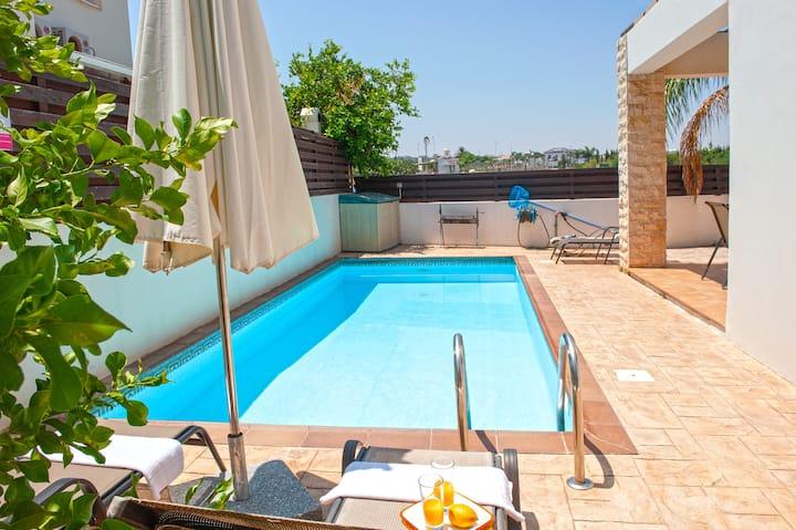 Protaras villa  with pool CARA