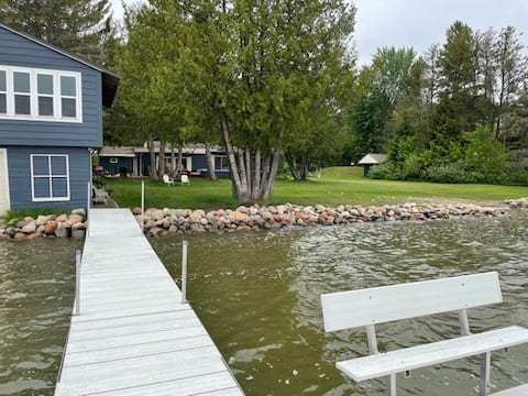 Updated Lakefront Cabin with Boathouse
