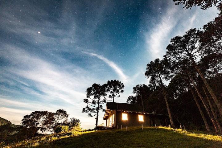 Sitio Aiki Hospedagem Rural - Cabana Planetario