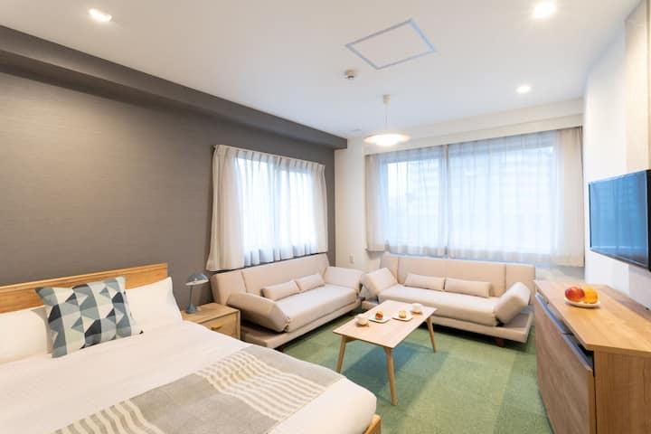 Asakusa&Skytree/Rooftop Lounge/Airport Direct/WiFi