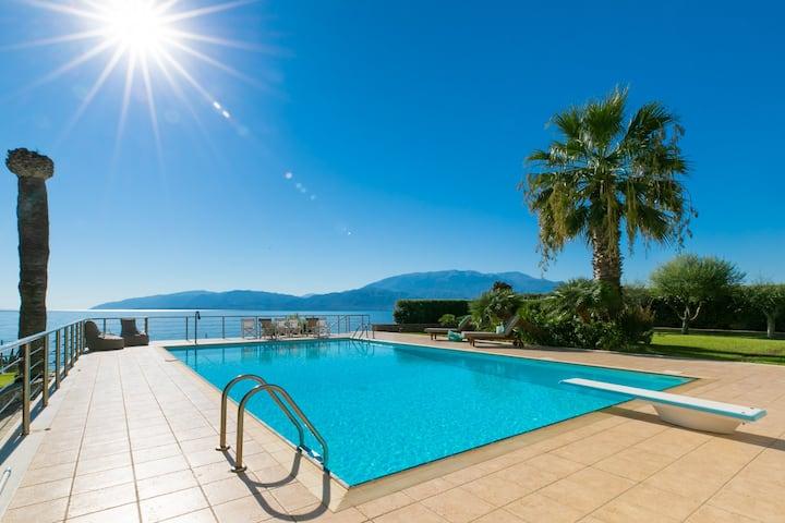 Luxury Villa on water at medieval Nafpaktos area