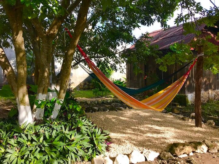 Cabaña Mantarraya, Mahahual Q.Roo, Mex.