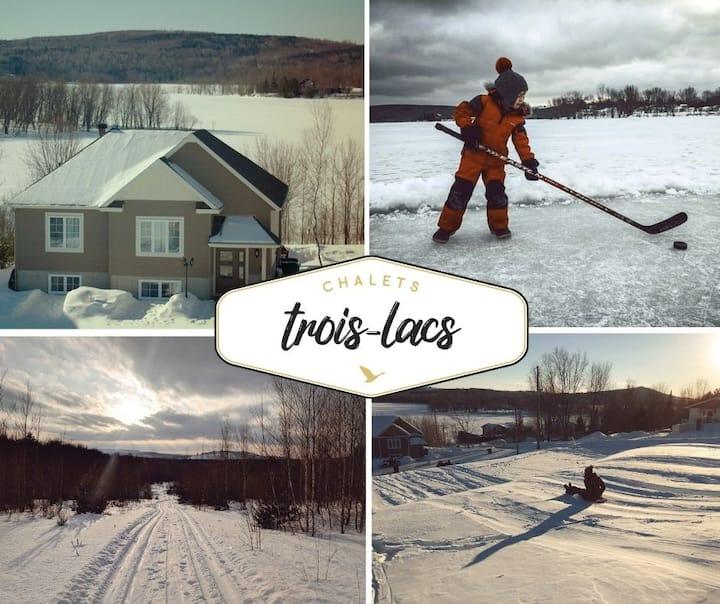 Chalets Trois-Lacs Historia