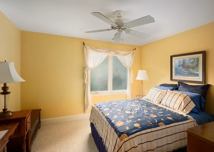 Comfortable room in special family home