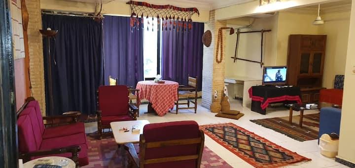 2 Bedrooms apartment#5 in Maadi near Metro station