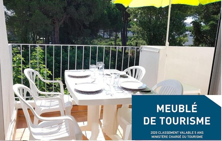 Domaine Happy-Land- Appartement - Terrasse - Clim.
