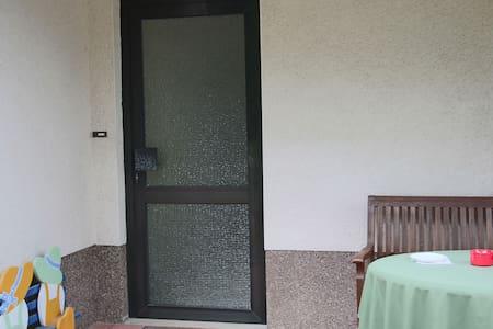 Eingangstür zur Ferienwohnung