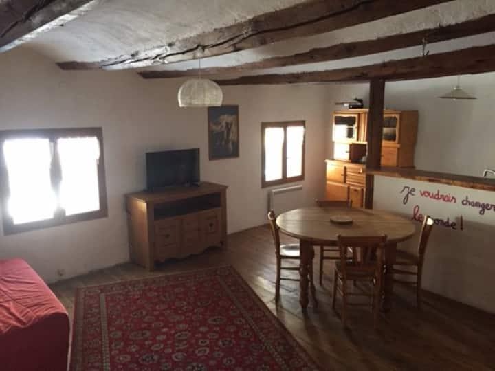 Appartement cosy dans la vallée de la Clarée