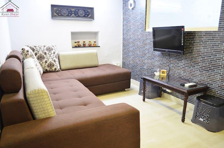 Living Room / third person sleeping area