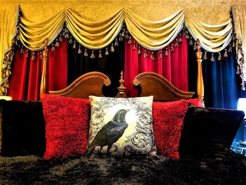 Rose Room - Steampunk Manor Bed & Breakfast