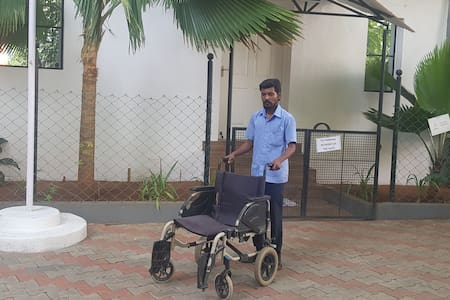 24x7 wheel chair assistance is available.