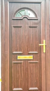 The width of the door is 32inches wide or 82cm