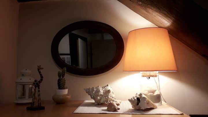 """Jolie chambre simple-centre historique.""""Sable"""""""