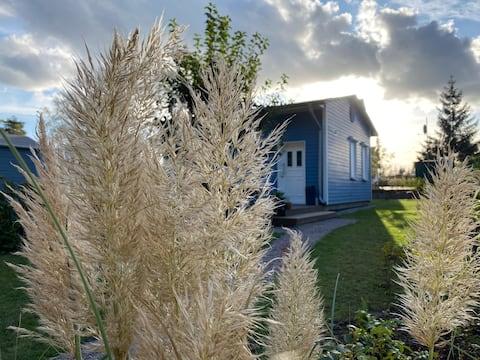 Blaues Haus am Plauer See