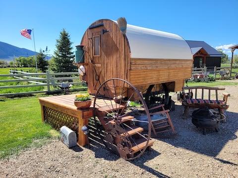 Ruby Meadows Ranch Lampaanvaunu