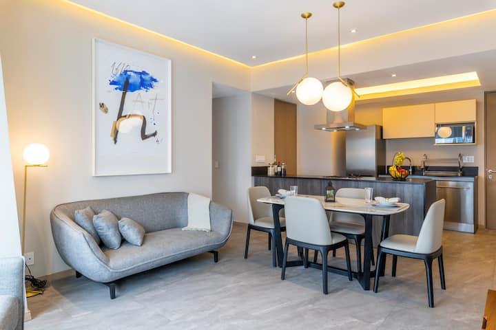 2 BR Apartment in Santa Fe, Mexico City T0203