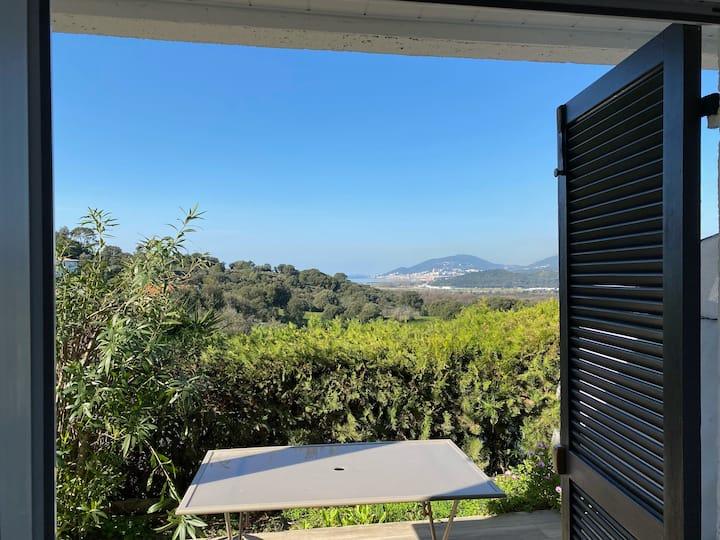 Studio et jardin environ d'Ajaccio
