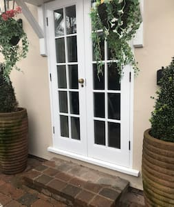 French Double Doors for easy entrance access.