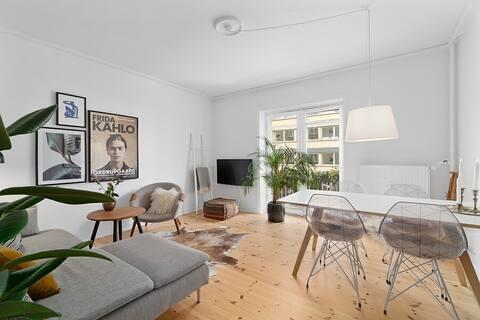 Charming Apartment in Upper Copenhagen