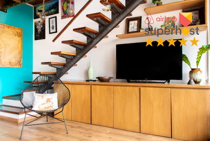 SPECIAL PRICE | Hip Poblado Duplex Penthouse
