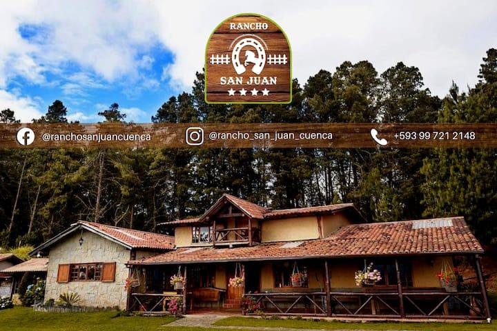 Rancho San Juan (a 20 minutos de Cuenca)