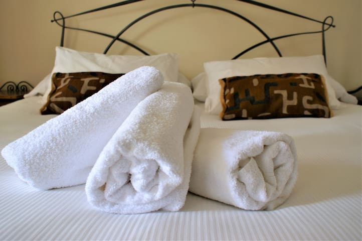 Bedroom 1 - super comfy