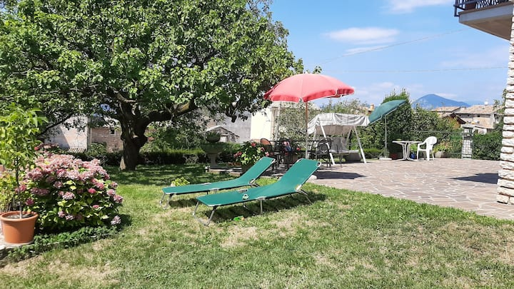 Appartamento Virgilio, con giardino, max 6 persone