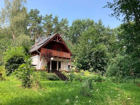 Waldhaus mitten im Naturpark Märkische Schweiz