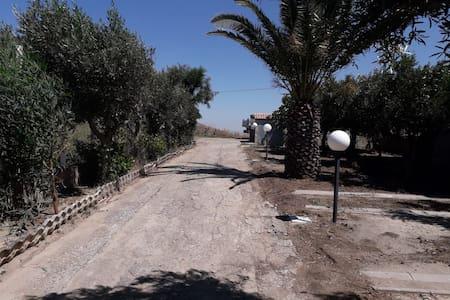 ingresso di entrata in Villa Raffaele