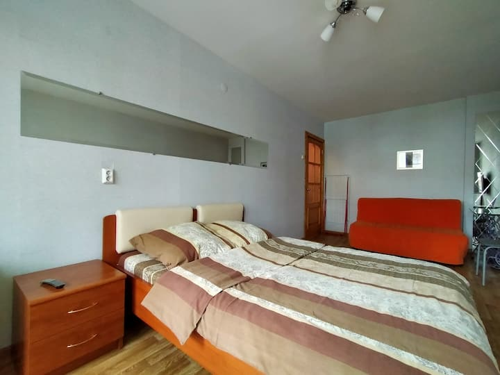 Квартира у вокзала ул.Ветошкина д. 37.