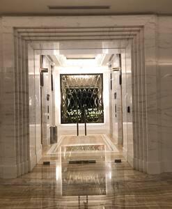Door to the lift