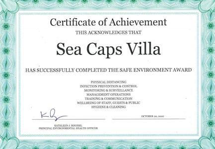 Sea caps villas