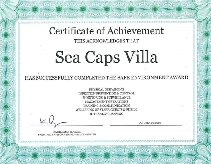 Sea caps villas