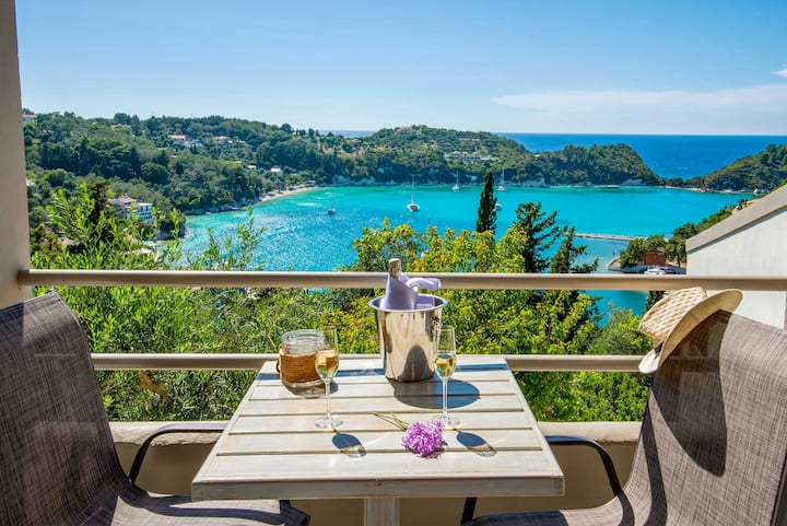 Angelos Maisonette D with amazing bay view
