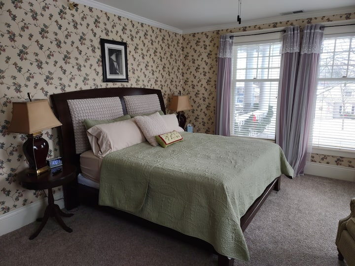 Historic St Johns Home-Green Duck Room (King)