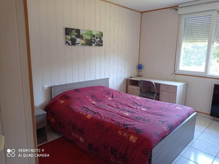 Chambres privées dans maison au calme, 5km mazamet
