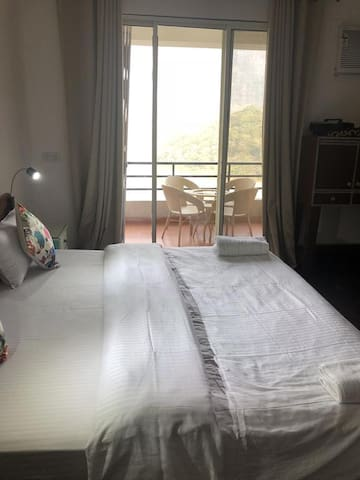 Master Bed Room with river View
