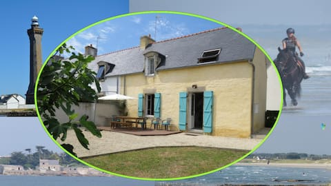 Charming 3 * Fisherman's House close to the beach
